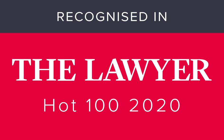 James Hartley Top 100 2020 lawyer