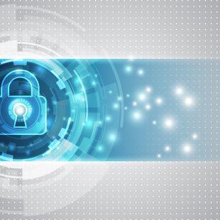 GDPR data padlock