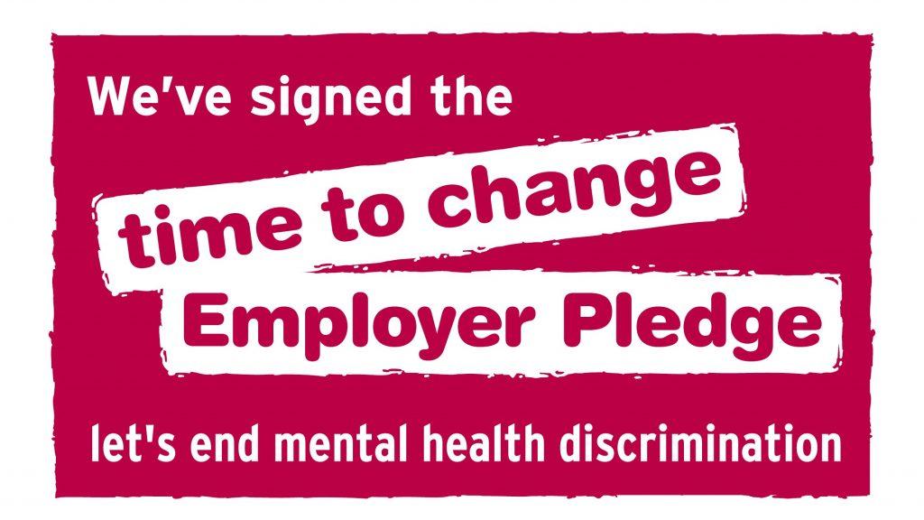Time to Change pledge logo