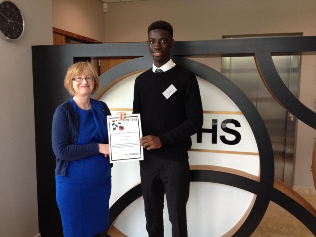 Local student awarded law firm scholarship