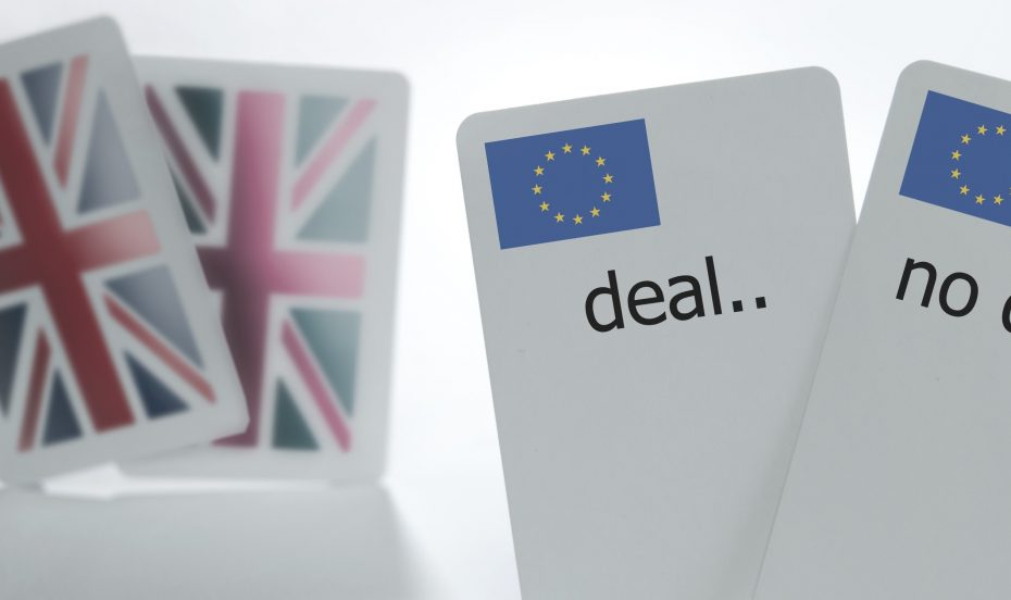 Brexit deal or no deal cards