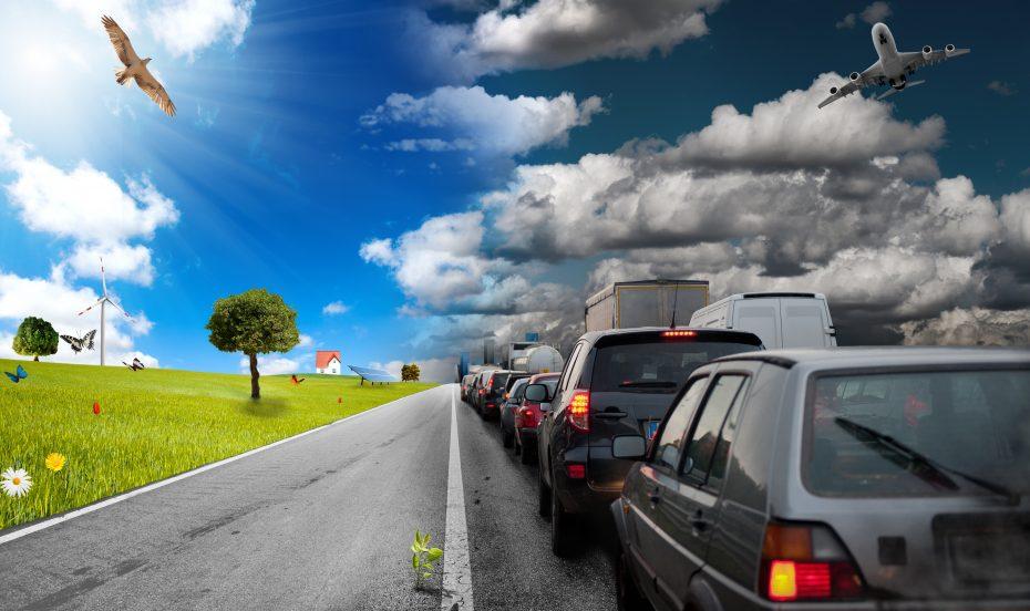 car pollution - environmental crisis