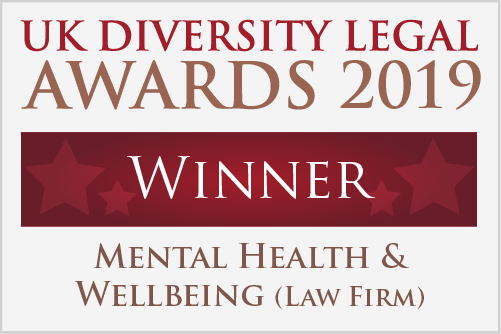 UK Diversity Awards Winner 2019 logo