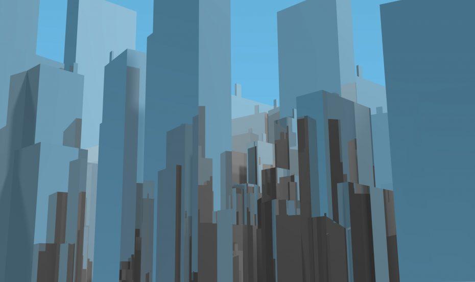 tower blocks, buildings