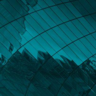 abstract aqua blue image