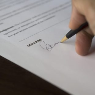Signing Commercial Contracts